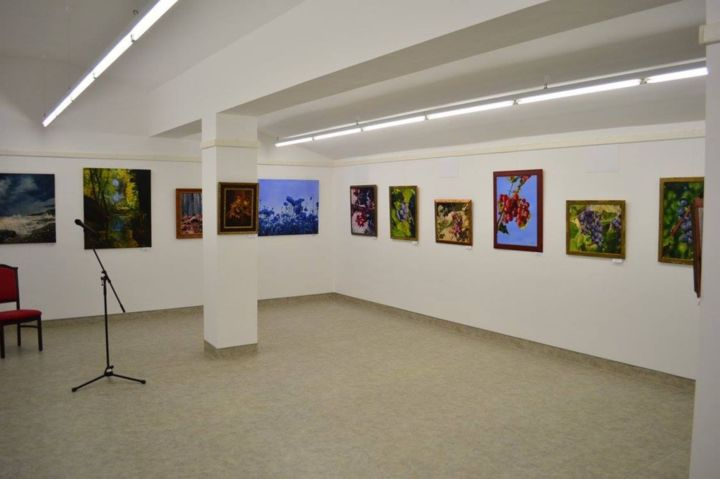 Common exhibition of Istvan Cene gal, Peter Duhaj and Laszlo Gulyas – May 2018